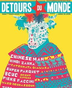 Flyer festival detours du monde 2018
