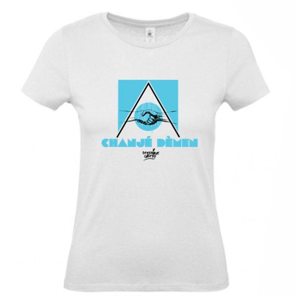 Tshirt-demen-femme-bleu-non-porte