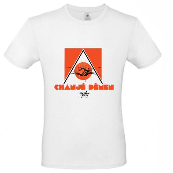 Tshirt-demen-homme-orange-non-porte